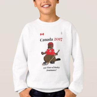 Canada 150 in 2017 Beaver Hockey Dominance Sweatshirt