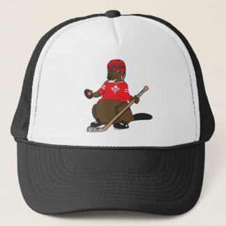 Canada 150 in 2017 Beaver Hockey Trucker Hat