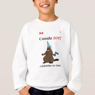 Canada 150 in 2017 Beaver Party Celebrate Sweatshirt