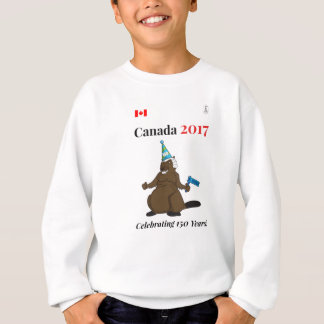 Canada 150 in 2017 Beaver Party Celebrate Sweatshirt