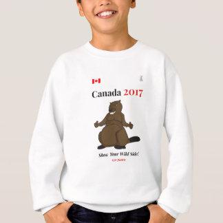 Canada 150 in 2017 Beaver Wild Sweatshirt