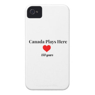 Canada 150 in 2017 Canada Plays Here iPhone 4 Covers