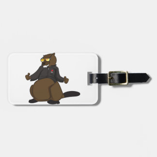 Canada 150 in 2017 Cool Beaver Merchandise Luggage Tag