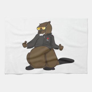 Canada 150 in 2017 Cool Beaver Merchandise Tea Towel