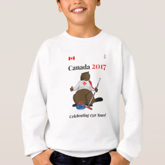 Canada 150 in 2017 Curling Celebrate Sweatshirt
