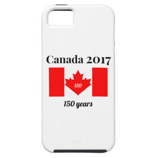 Canada 150 in 2017 Heart Flag iPhone 5 Covers