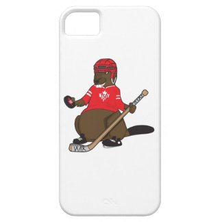 Canada 150 in 2017 Hockey Beaver Barely There iPhone 5 Case