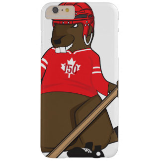 Canada 150 in 2017 Hockey Beaver Barely There iPhone 6 Plus Case