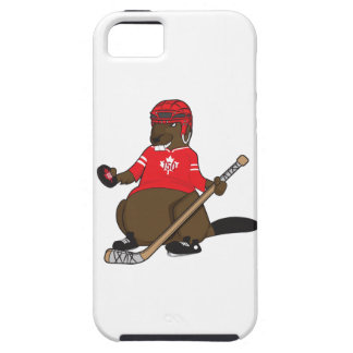 Canada 150 in 2017 Hockey Beaver iPhone 5 Cases