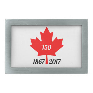 Canada 150 in 2017 maple leaf rectangular belt buckle