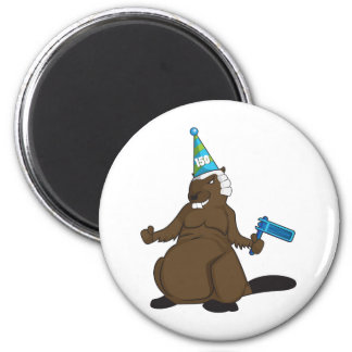Canada 150 in 2017 Party Beaver Merchandise 6 Cm Round Magnet