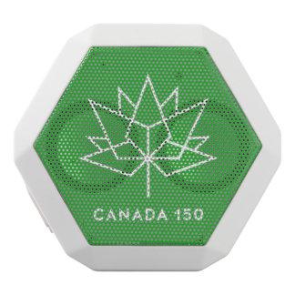 Canada 150 Logo White Bluetooth Speaker