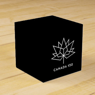 Canada 150 Official Logo - Black and White Favour Box
