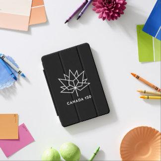 Canada 150 Official Logo - Black and White iPad Mini Cover
