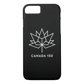 Canada 150 Official Logo - Black and White iPhone 7 Case