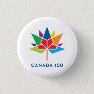 Canada 150 Official Logo - Multicolor 3 Cm Round Badge