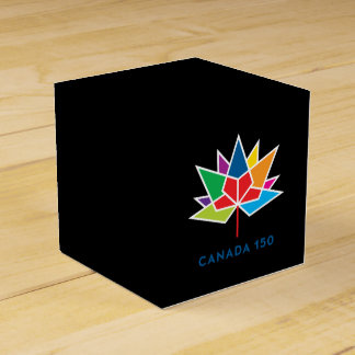 Canada 150 Official Logo - Multicolor and Black Favour Box
