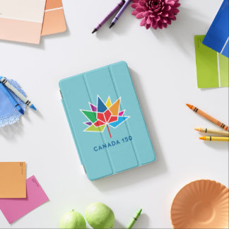 Canada 150 Official Logo - Multicolor and Blue iPad Mini Cover