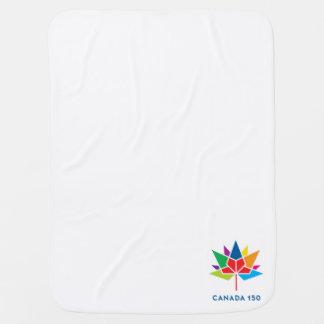 Canada 150 Official Logo - Multicolor Buggy Blanket