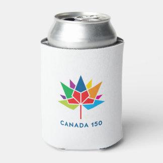 Canada 150 Official Logo - Multicolor Can Cooler