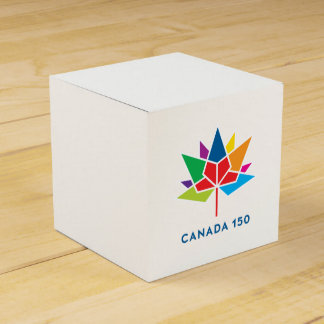 Canada 150 Official Logo - Multicolor Favour Box