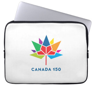 Canada 150 Official Logo - Multicolor Laptop Sleeve