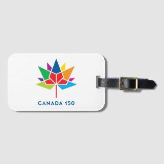 Canada 150 Official Logo - Multicolor Luggage Tag