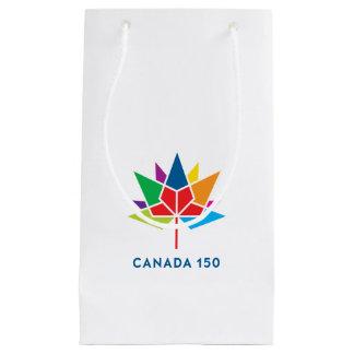 Canada 150 Official Logo - Multicolor Small Gift Bag