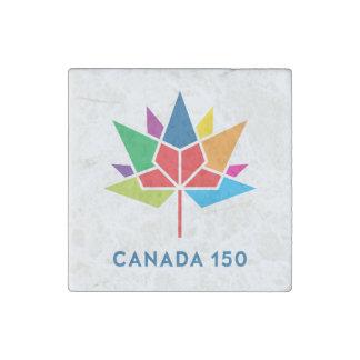 Canada 150 Official Logo - Multicolor Stone Magnet