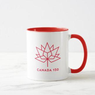 Canada 150 Official Logo - Red Outline Mug