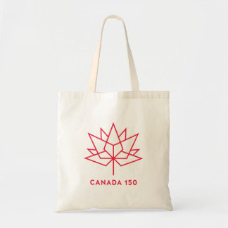 Canada 150 Official Logo - Red Outline Tote Bag