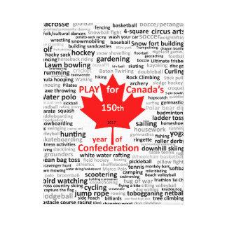 Canada 150th Play List on Canvas
