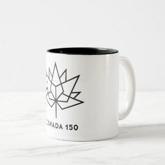 Canada 150th two tone coffee mug