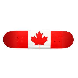 Canada 18.1 Cm Old School Skateboard Deck