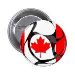 Canada #2 6 cm round badge