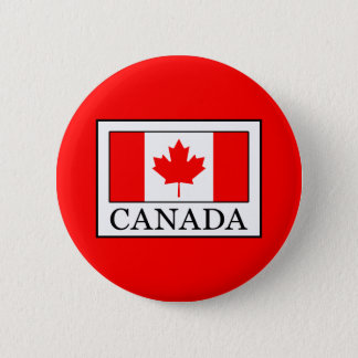 Canada 6 Cm Round Badge