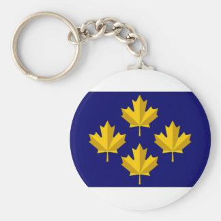 Canada Admiral alternative Flag Key Ring