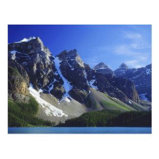 Canada, Alberta, Banff National Park, Moraine Postcard
