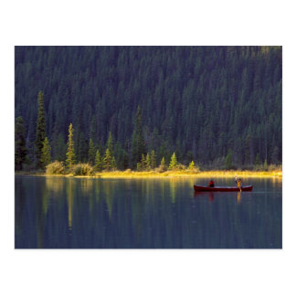 Canada, Alberta, Baniff National Park. Two boys Postcard