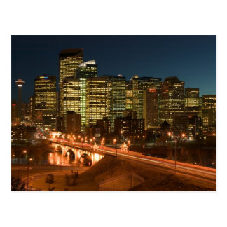 Canada, Alberta, Calgary: Downtown Calgary, Postcard