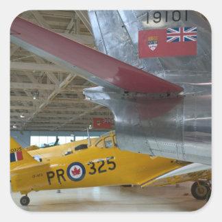Canada, Alberta, Edmonton: Alberta Aviation 2 Square Sticker