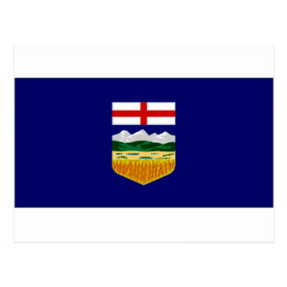 Canada Alberta Flag Postcard