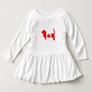 Canada Basset Hound Dress