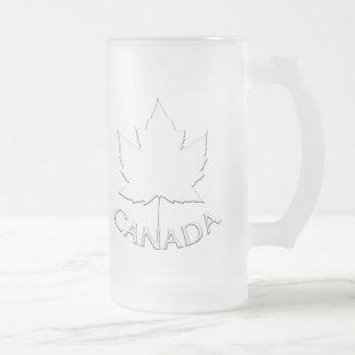 Canada Beer Mug Canada Maple Leaf Souvenir Glasses