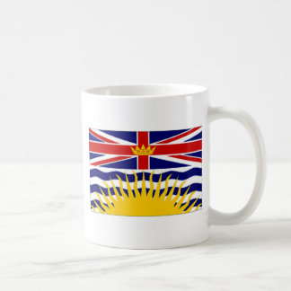 Canada British Columbia Flag Basic White Mug