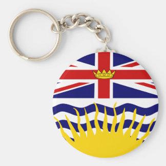 Canada British Columbia High quality Flag Keychain