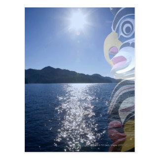 Canada, British Columbia, Native American totem Postcard