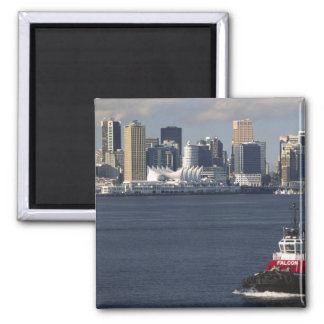 Canada, British Columbia, Vancouver. Downtown Square Magnet