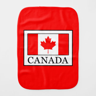 Canada Burp Cloth