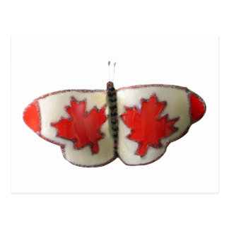 Canada Butterfly Postcard